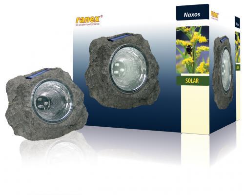 Lampa solara pt gradina, 3 LED, 0.06W, baterie 2