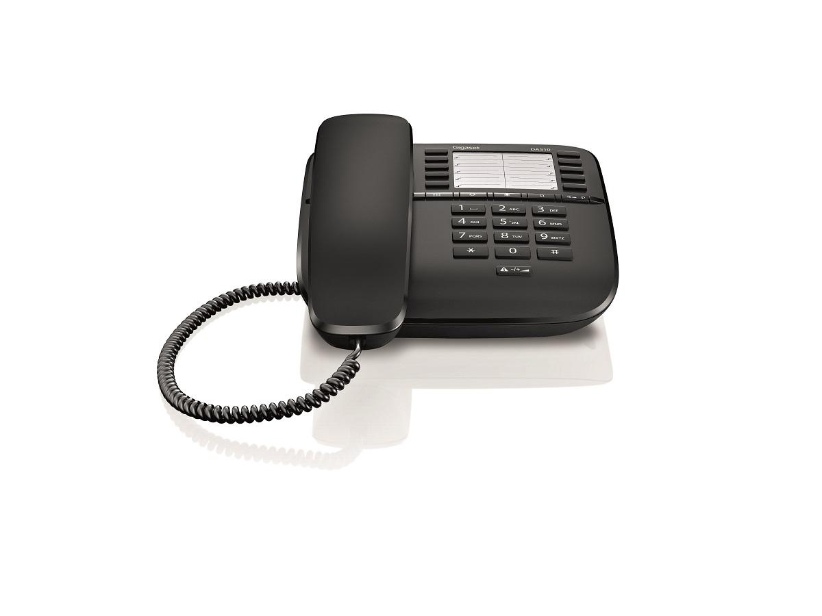 Telefon fix analogic Gigaset DA510 negru